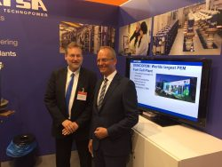 Minister Kamp of Economic Affairs also visitid the MTSA booth at the Hannover Messe