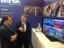 Prins Constantijn at the Hannover Messe